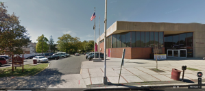 Roselle Municipal Court from Google Street View (2012). The court is responsible for deciding all simple assault, DWI, harassment, disorderly conduct, marijuana possession, drug paraphernalia, driving while suspended, possession of cds in a motor vehicle, obstructing the admission of law and other traffic and disorderly persons offenses issued in the Borough of Roselle.